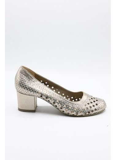 La scada Mr1001 Dore Kadın Topuklu Ayakkabı Altın